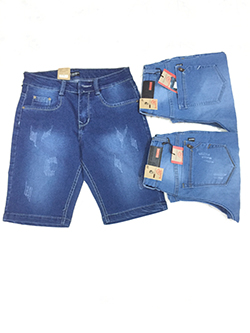 Quần Short Jeans Nam MS196
