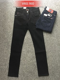 Quần Jeans Nam đen túi hộp V60.160