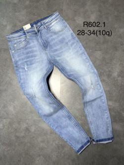 Quần jean dài nam rách R602.1