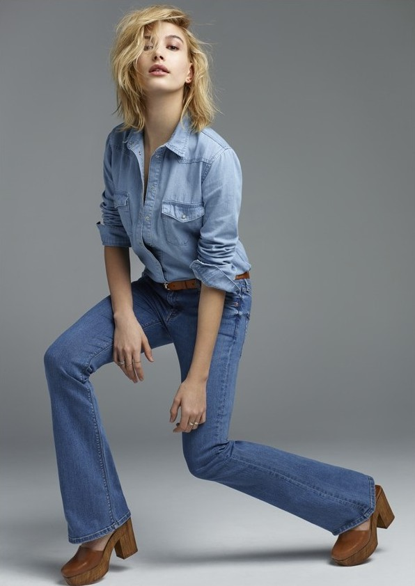 Chọn dáng quần jeans với bộ sưu tập mới topshop denim - 2