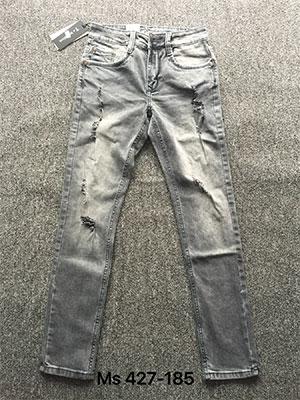 Sang trọng và ấn tượng với quần jean nam rách gối ống côn ống đứng - 4