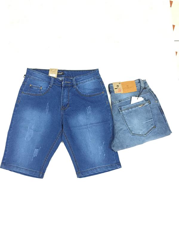 Quần Short Jeans Nam Bán Sỉ MS180 - slide 1