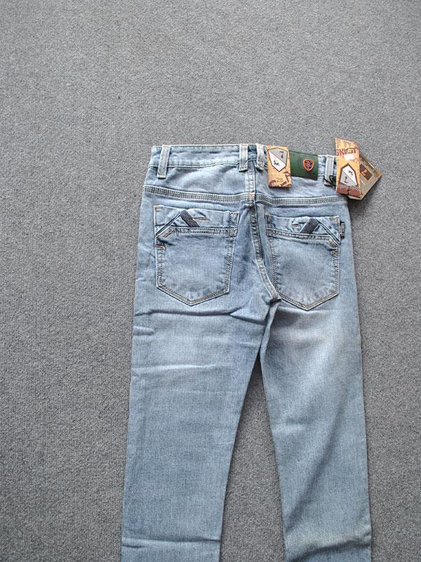 Quần jeans nam ống côn cao cấp MS323 - slide 1