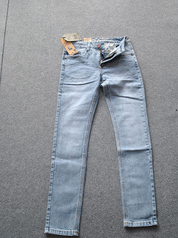 Quần jeans nam ống côn cao cấp MS323 - slide 2