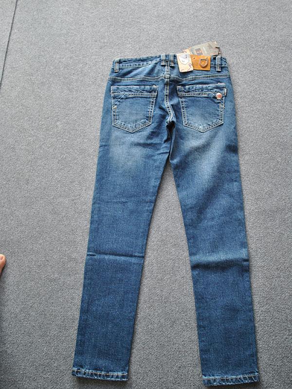 Quần jeans nam ống côn cao cấp MS334 - slide 1