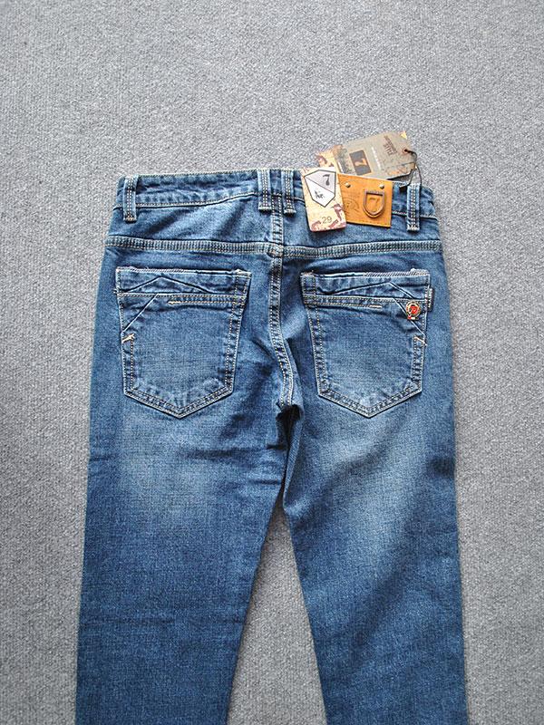 Quần jeans nam ống côn cao cấp MS334 - slide 2