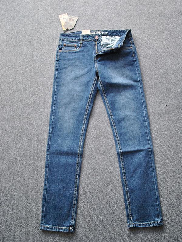 Quần jeans nam ống côn cao cấp MS334 - slide 3