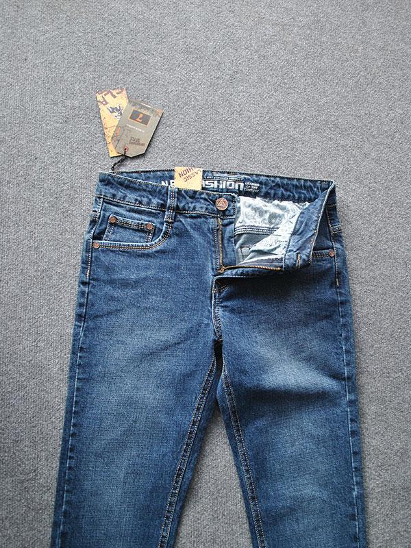 Quần jeans nam ống côn cao cấp MS334 - slide 4
