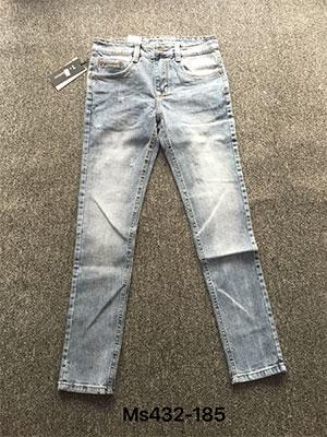 Quần Jeans Nam ống côn CC MS432.180