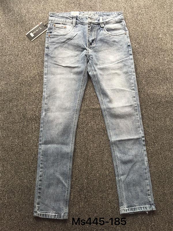 Quần Jeans Nam ống côn Giá Rẻ QJ445 - slide 1
