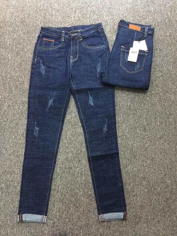 Quần jean nữ rách asos M01.95 - slide 1