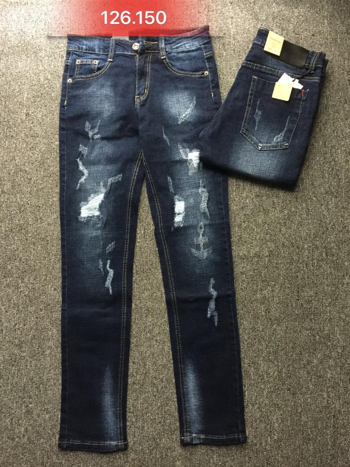 Quần jean nam skinny rách 126.150 - slide 1