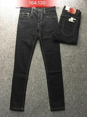 Quần jean nam skinny đen 164.130