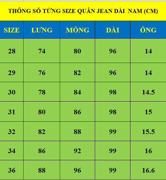 Quần jean dài nam 545.1 - slide 1