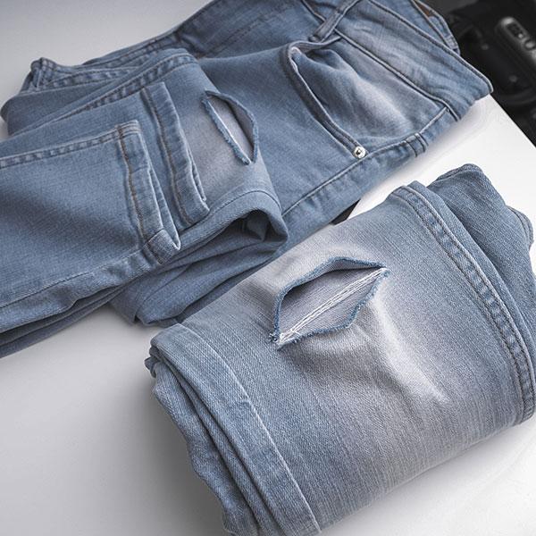 Quần jean dài nam rách R587.1 - slide 6