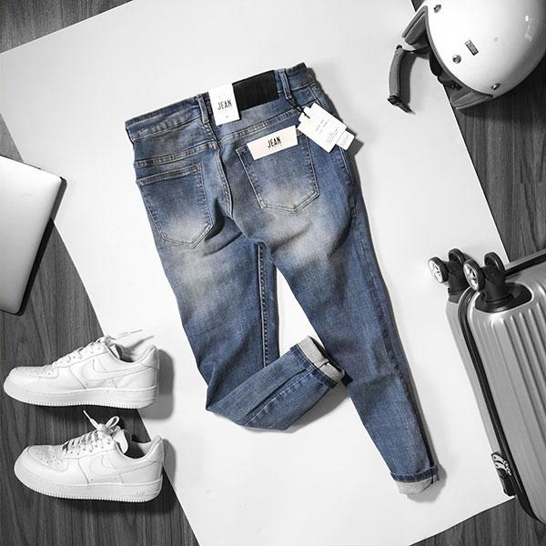 Quần jean dài nam rách R591.1 - slide 1