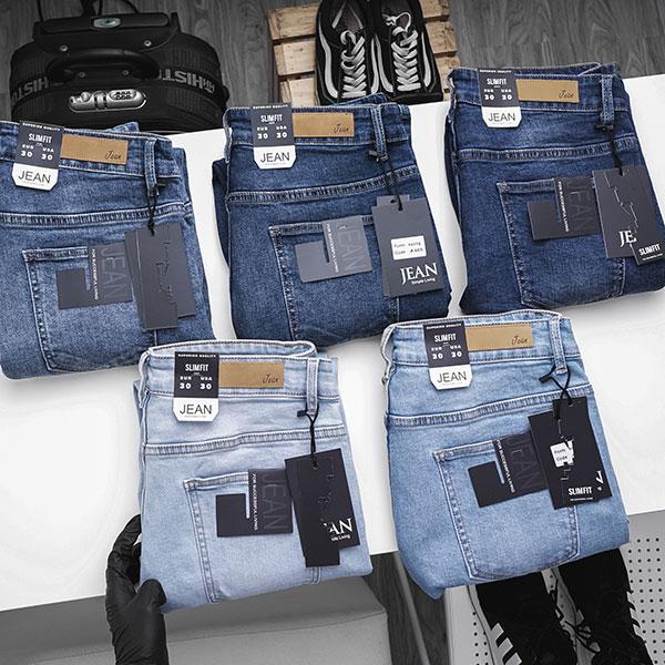 Quần jean dài nam rách R603 - slide 2