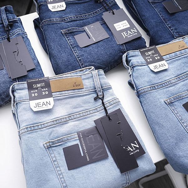 Quần jean dài nam rách R603 - slide 4