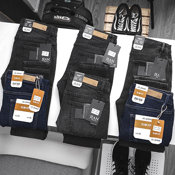 Quần jean nam đen trơn a2s33 - slide 4