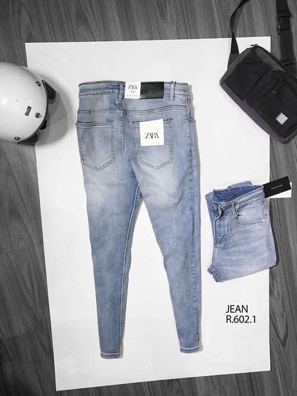 Quần jean dài nam rách R602.1 - slide 1