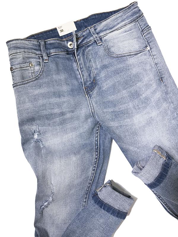 Quần jean dài nam rách R602.1 - slide 2
