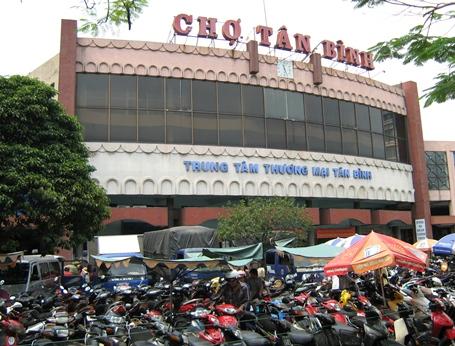 Chợ bán sỉ quần áo Sài Gòn