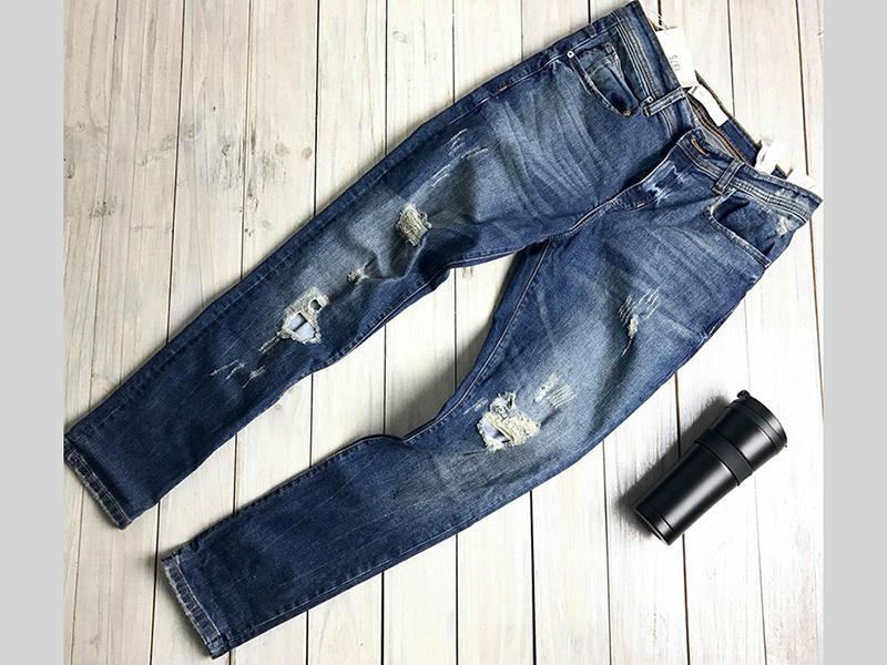 Quần Jeans Nam Cá Tính Cho Mùa Hè Sôi Động 2017
